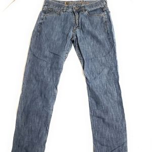 Canali Men's Straight Leg Jeans Size 46 C Pockets